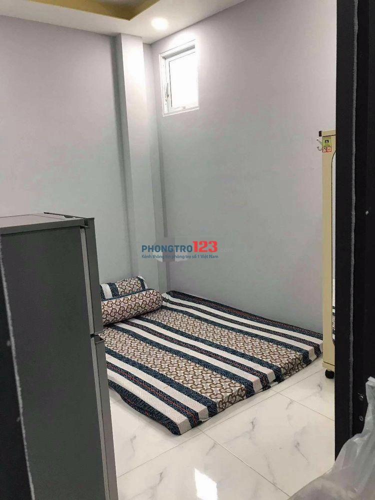 Cho thuê phòng mới xây 100% đầy đủ nội thất nhà mặt tiền 47 Đường số 9, P.4, Q.4