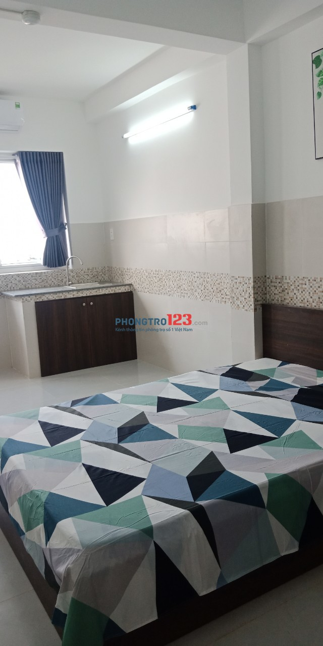 Cho thuê phòng mới xây đầy đủ nội thất ngay BX Miền Đông Hẻm 56 Nguyễn Xí, Q.Bình Thạnh