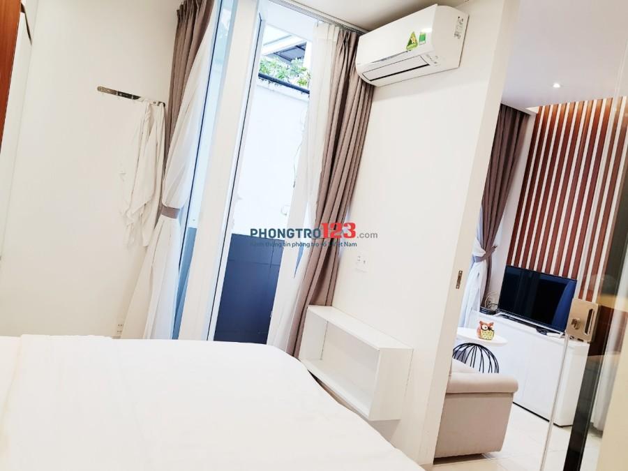 Cho thuê căn hộ 1PN gần Trường THPT Hoàng Hoa Thám