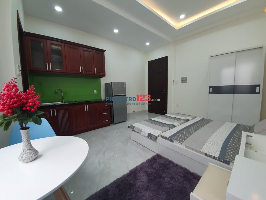 Phòng trọ full nội thất, mới xây Thích Quảng Đức, Phú Nhuận