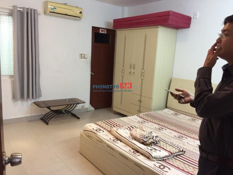 Giảm 20% Phòng rộng FULL nội thất, cửa sổ, khu Phan Xích Long