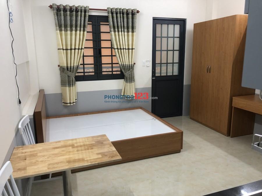 Căn hộ cao cấp 1 phòng ngủ riêng full nội thất 6.3tr đường Lê Khôi, F.Phú Thạnh_Q.Tân Phú