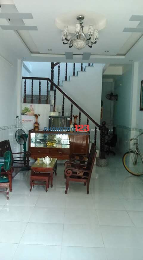Cho thuê nhà 213/8 Nguyễn Thị Minh Khai