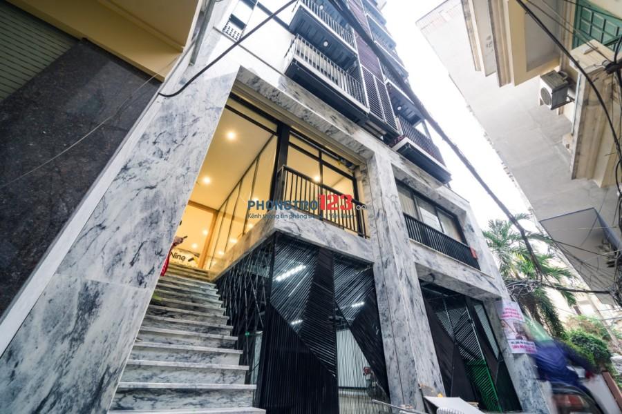 Cho thuê căn hộ mới Quận Cầu Giấy [1 phòng ngủ, 1 WC & bếp trong]