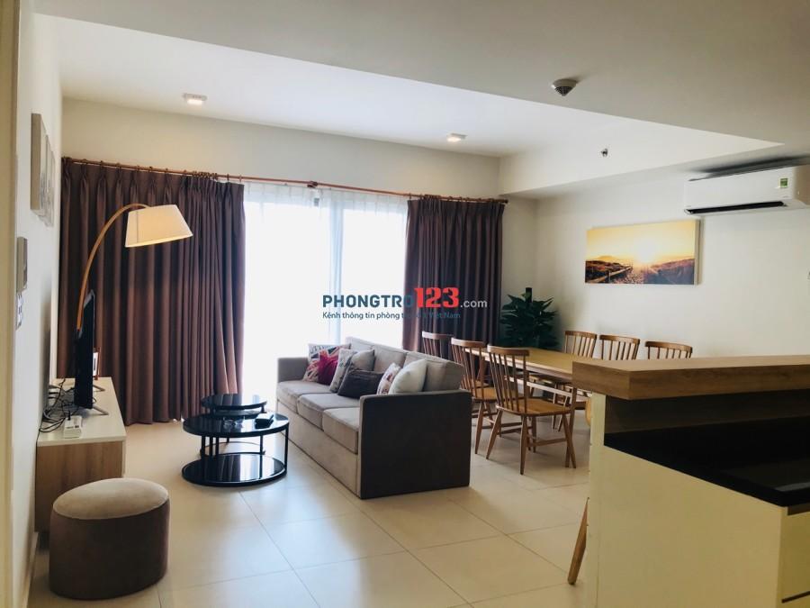 Cho thuê CH Masteri Thảo Điền Luxury, full nội thất, 3PN, 2WC, tầng, 96m2 - 1200 $/tháng