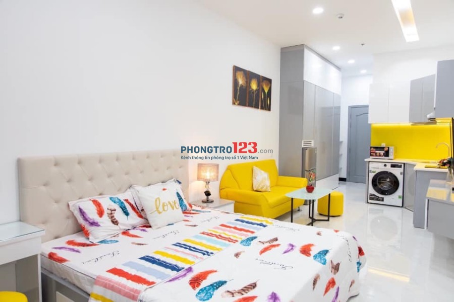 Cho thuê phòng Full NT mới Dạng Căn Hộ Dịch Vụ đường Nguyễn Thị Thập, Q.7 ngay lotte Max