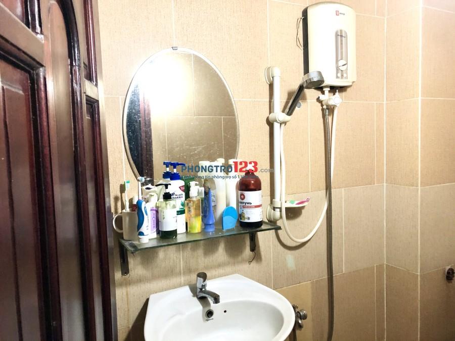 Phòng sạch, yên tĩnh, bao điện nước wifi, máy giặt