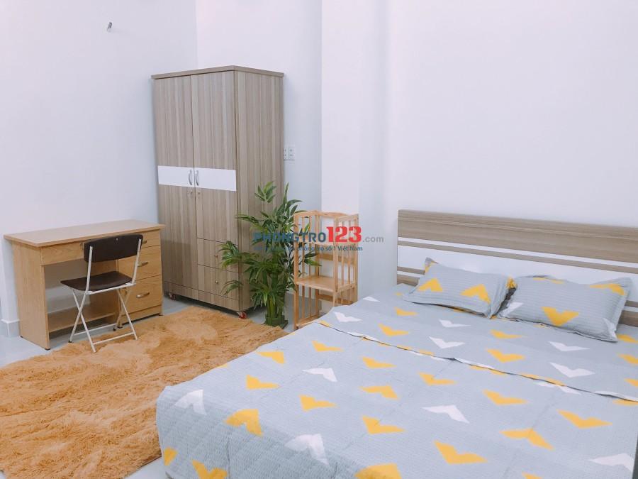 Phòng đầy đủ tiện nghi, ngã tư Nơ Trang Long & Lê Quang Định, ngay tiệm vàng Mi Hồng giảm 1TR GIÁ THUÊ THÁNG 5