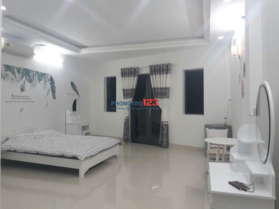 Cho thuê phòng thiết kế theo căn hộ dịch vụ, Full nội thất Gần Đầm Sen Q.11. Giá từ 4.8tr/tháng