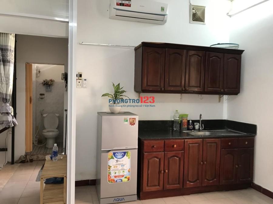 Cho thuê phòng nguyên tầng full nội thất, giá 7tr5 triệu/tháng đường Yên Thế