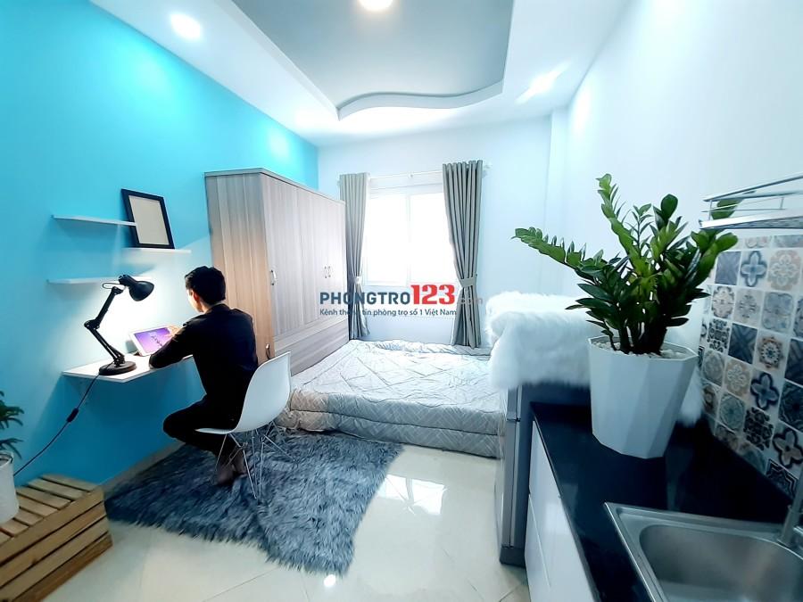 Căn hộ mini giá rẻ đầy đủ nội thất bao đẹp Nguyễn Xí _ Bình Thạnh gần bến xe miền đông, Phạm Văn Đồng