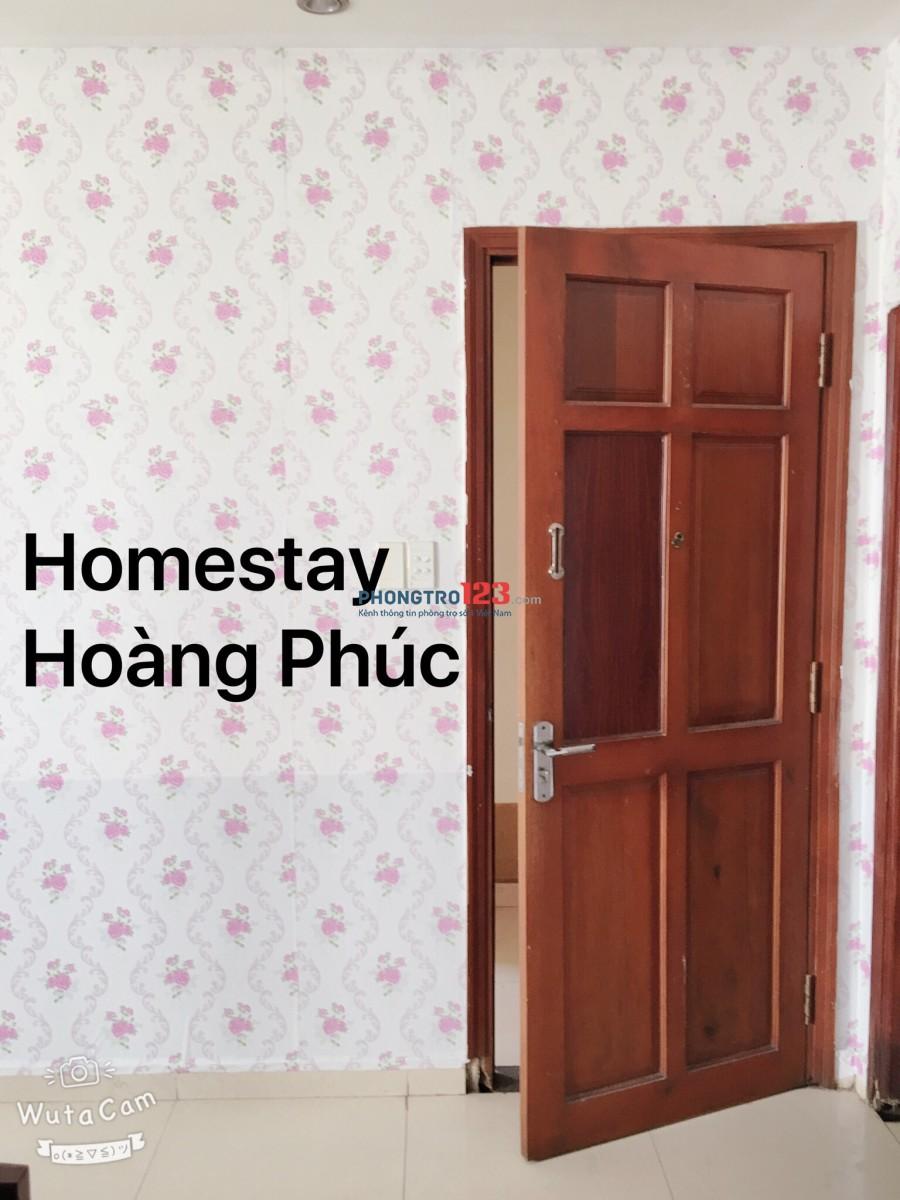 Homestay Hoàng Phúc:Giường tầng trọn gói 700k ngay Lotte Mart