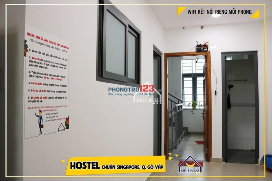 Cho thuê ký túc xá tư nhân cao cấp nhất hiện nay tại Dương Quảng Hàm p5 Gò Vấp