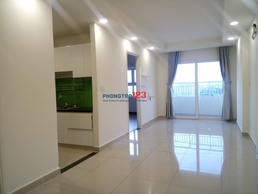 Cho thuê căn hộ chung cư 2PN 2WC mới rộng rãi