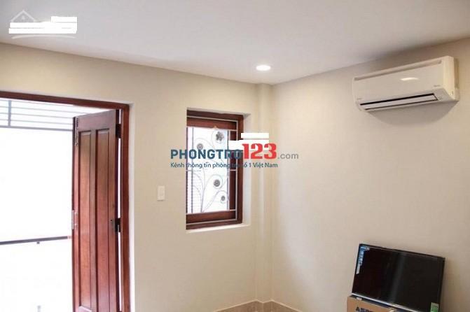 Cho thuê căn hộ mini full, 30m2,1PN, bếp riêng, Nguyễn Gia Trí (D2), Bình Thạnh, giá 5tr