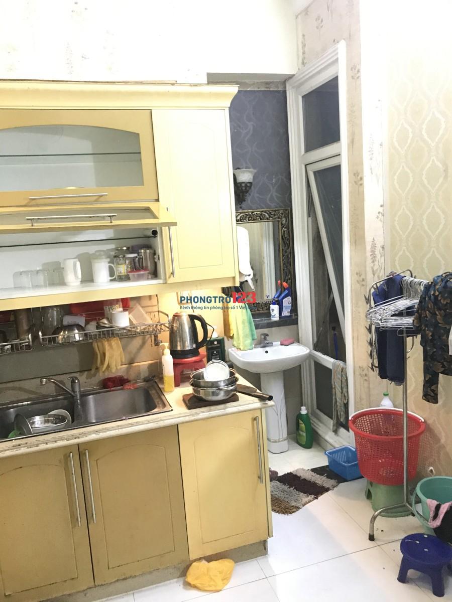 Căn Hộ MiNi Full Nội Thất PK, PN, bếp Q.4 ngay Hoàng Diệu, DT 55m
