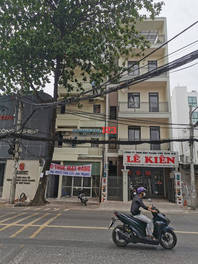 Cho thuê mặt bằng 55 Phổ Quang, Quận Tân Bình
