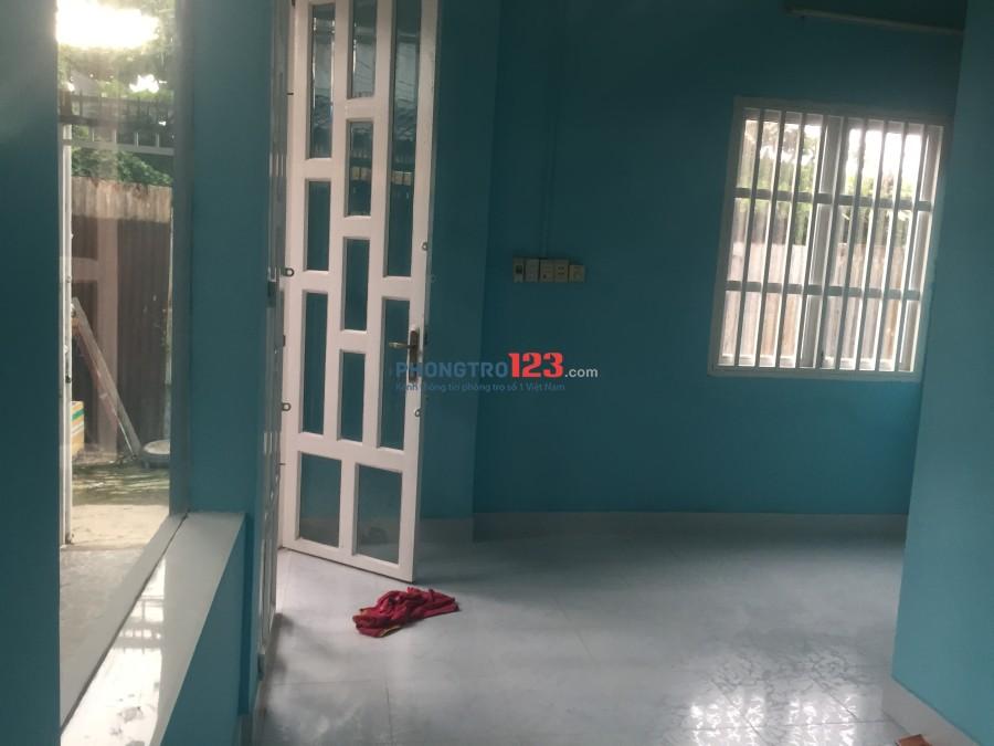 Nhà mới nguyên căn Phạm Hùng, giáp Quận 8, DT: 43 m2, điện nước chính, giá 5,2 triệu