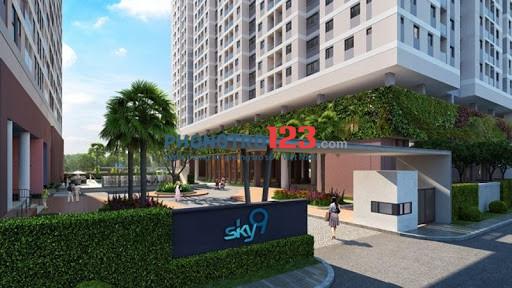 Share lại 1p trong căn hộ Sky9 dt 66m2, 2pn, 2wc. Giá 3.5tr/th