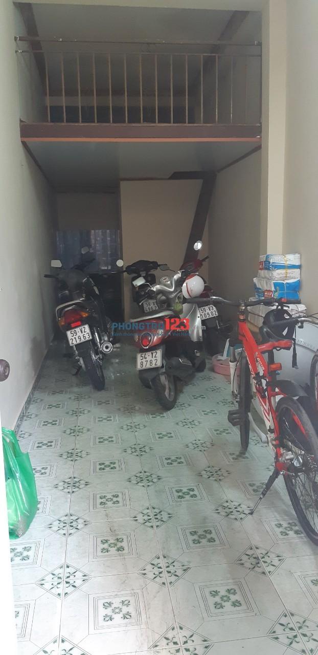 Cho thuê nhà trọ gần chợ An Nhơn Lê Đức Thọ - Nguyễn Oanh, 25m2, có gác, hẻm 5m thông xe tải