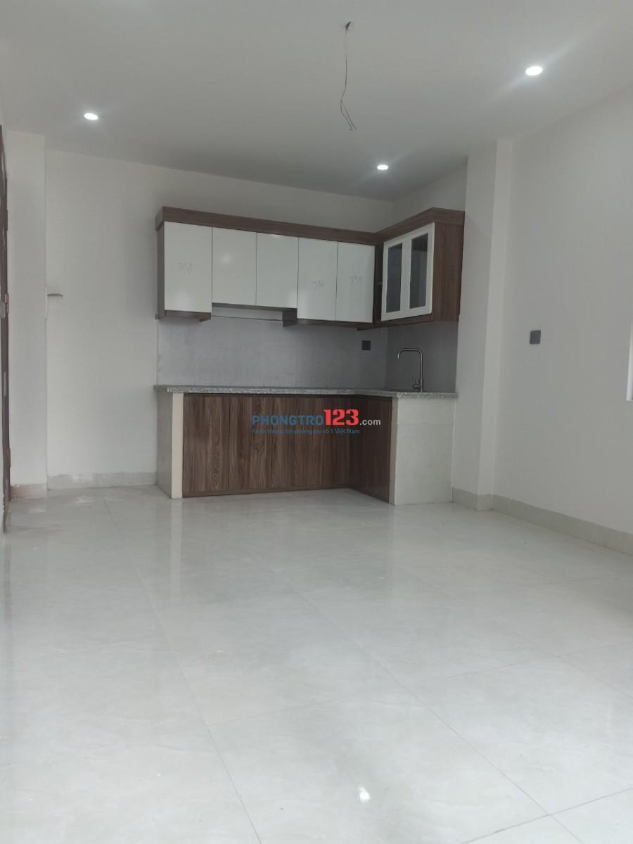 Cho thuê căn hộ 50m2 có 1 khách và 1 phòng ngủ, giá chỉ 5.3 triệu/tháng