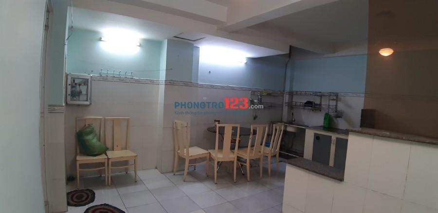 Cho thuê phòng trọ ngay ngã tư Quang Trung – Phan Huy Ích, 25 m2, có bếp, giếng trời, ở tầng trệt