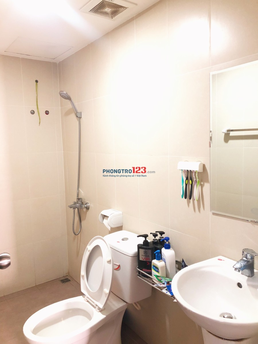 Share căn hộ Sky9 cho 1 nam, giá 1.5tr