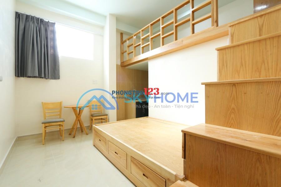 Phòng trọ cao cấp nội thất giá rẻ trung tâm quận 7