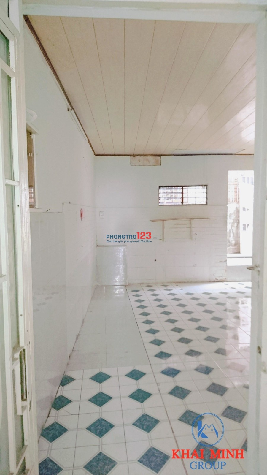 Phòng 35m2 CÓ GÁC - ban công, sát bên ĐH Hutech, 391/33 Điện Biên Phủ