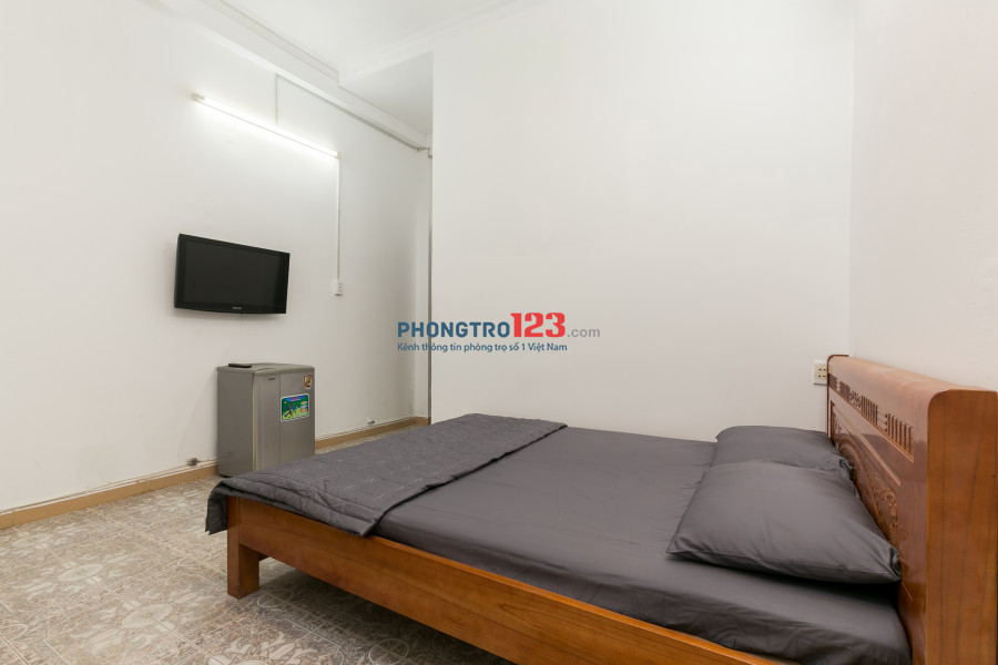 Phòng 18m2-3,2tr đầy đủ tiện nghi, ngay mặt tiền đường Quang Trung Quận Gò Vấp