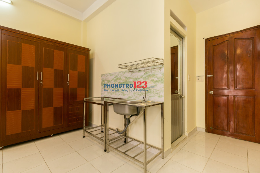Phòng 25m2-3,3tr đủ tiện nghi, HXT Quang Trung gần Chợ Hạnh Thông Tây Quận Gò vấp