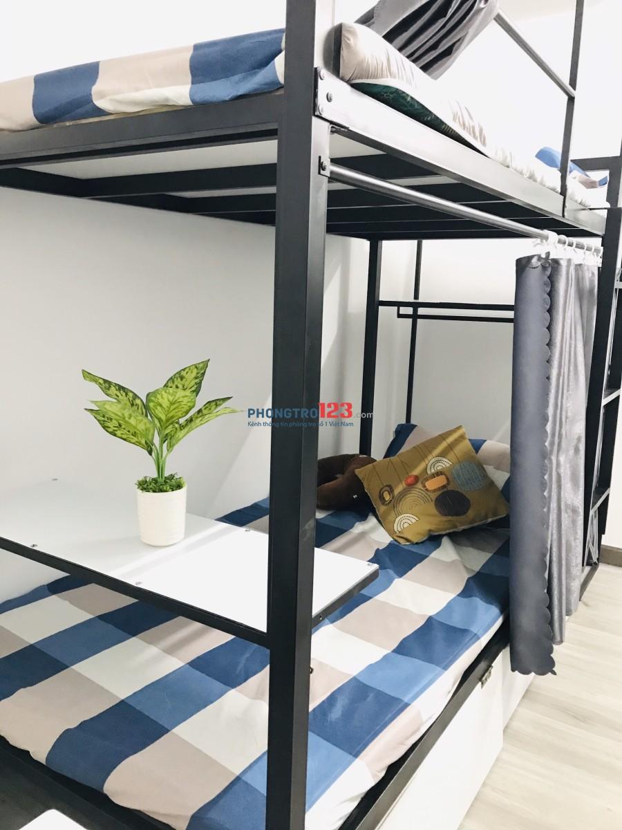 Phòng trọ ký túc xá tiện nghi mới xây 100%, gần Landmark 81, Đại học Hutech, UEF. Giá chỉ từ 1.5 triệu/tháng.