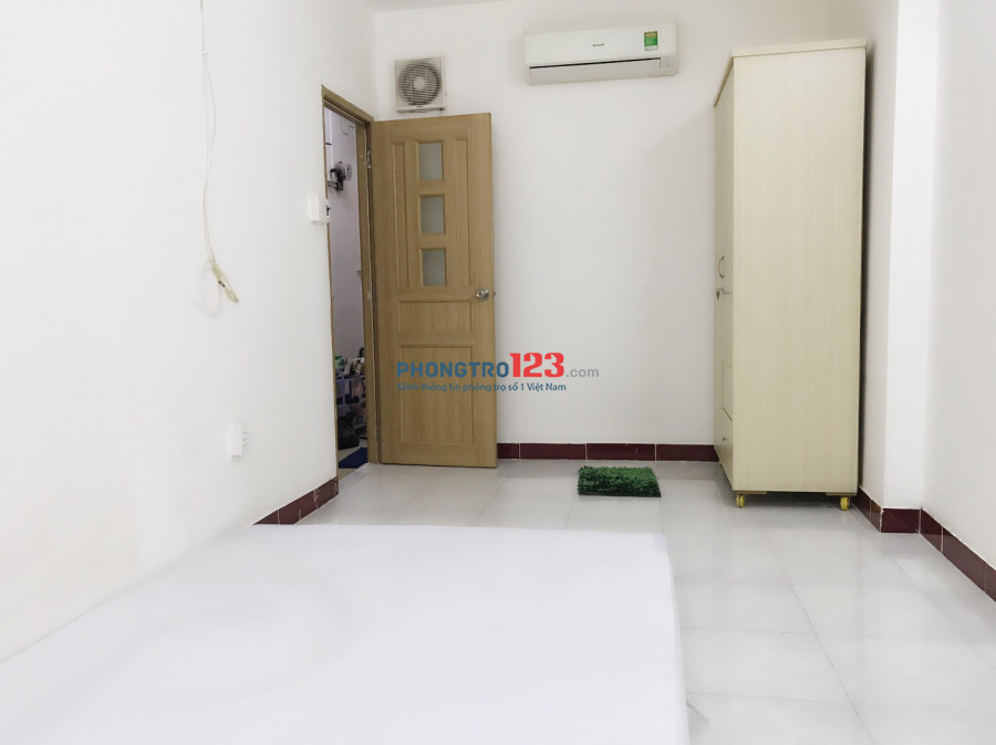 Phòng trọ 20m2 TRẦN HUY LIỆU-PHÚ NHUẬN + Nội thất + ở 2-3 người