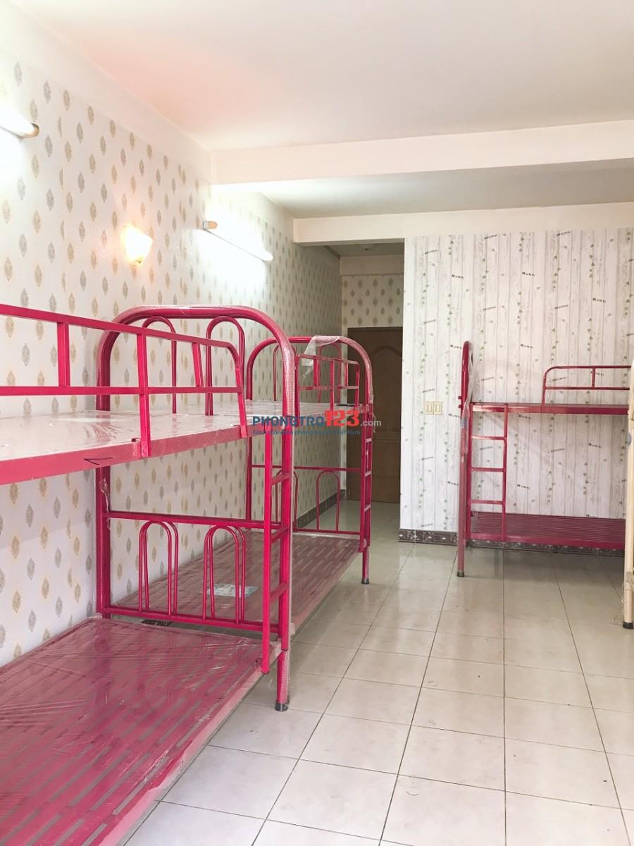 Cho thuê giường tầng và phòng trong nhà nguyên căn mặt tiền 19 Nguyễn Kim, Q.5. Giá từ 1.2tr/th