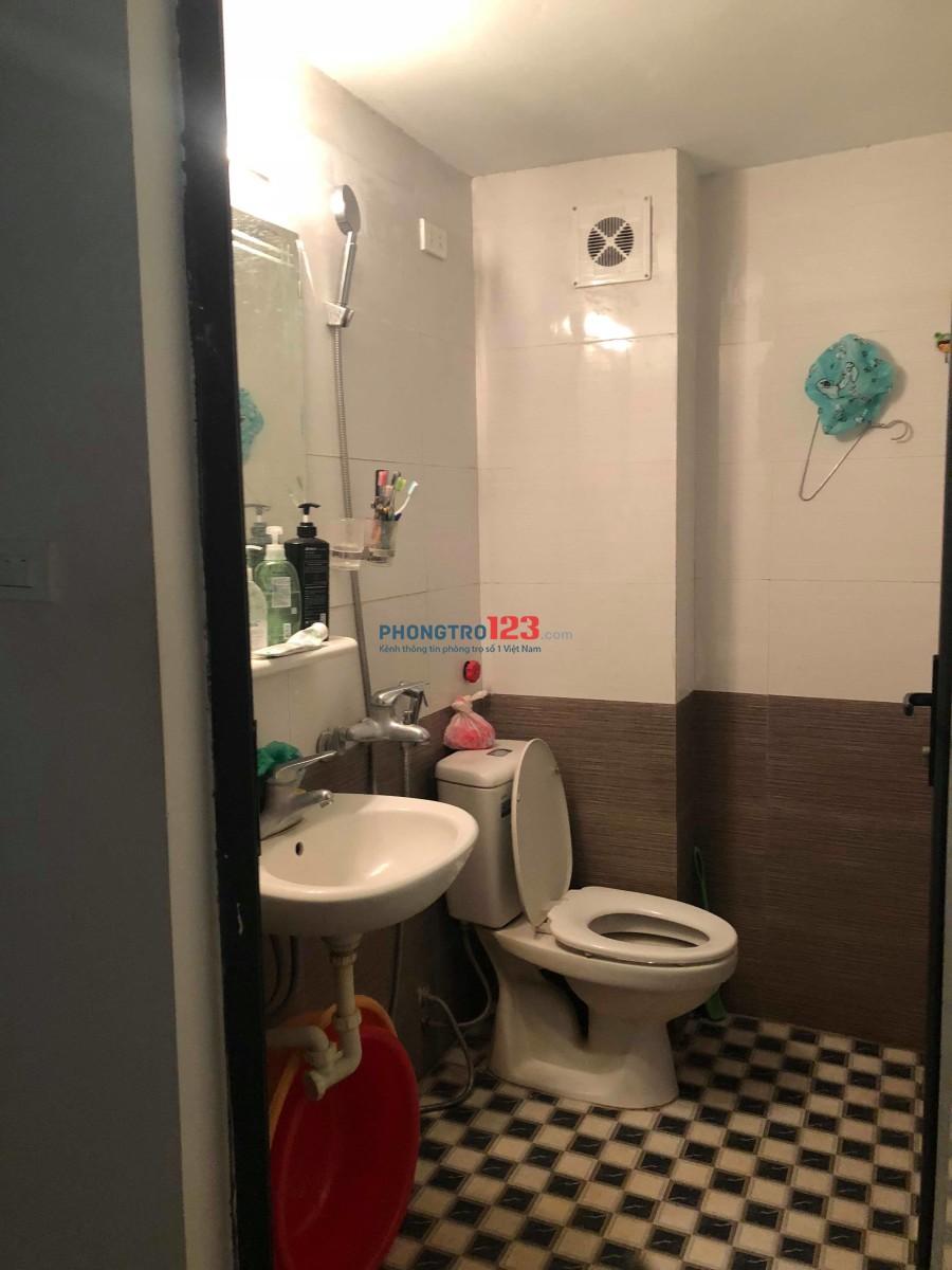 Cho thuê phòng trọ quận Đống Đa, 25m2 xây mới, đủ đồ, giá 3tr