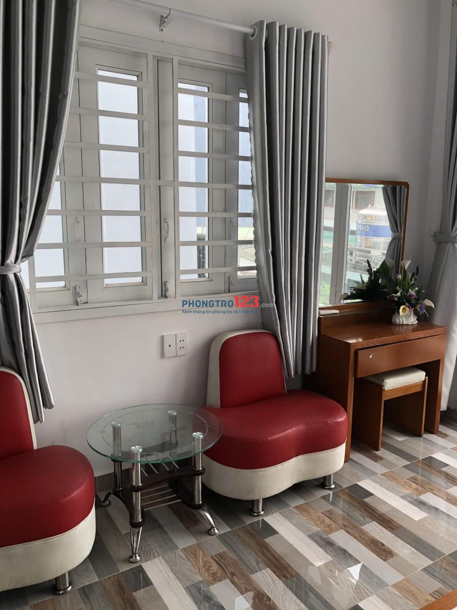 Cho thuê phòng đầy đủ tiện nghi gần chợ Hạnh Thông Tây