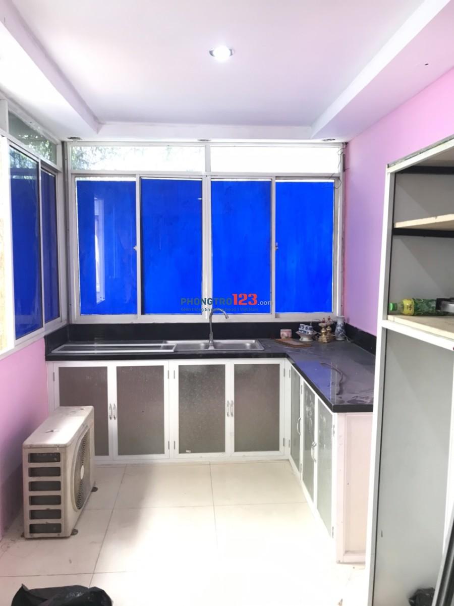 Cho thuê tầng lửng có nội thất vừa ở vừa kinh doanh mặt tiền 341 Trần Xuân Soạn, P.Tân Kiểng, Q.7