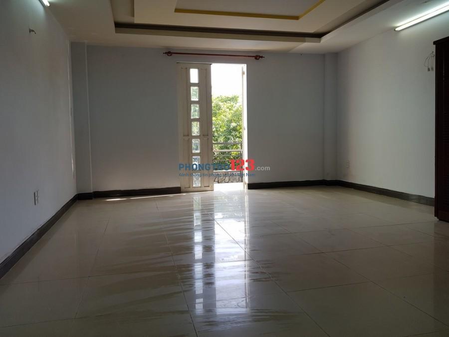 Phòng Gò Vấp 45m2, rộng, sạch, đẹp, có ban công, rất an ninh, giờ giấc tự do.