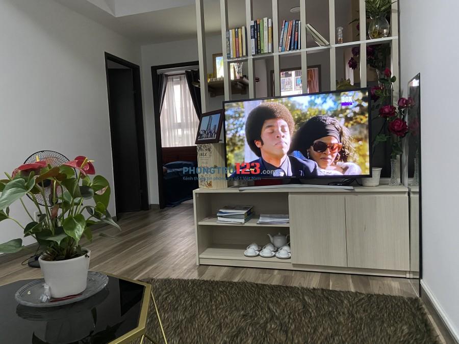 Cho nữ thuê phòng căn hộ SKY9 quận 9, giá 2 triệu