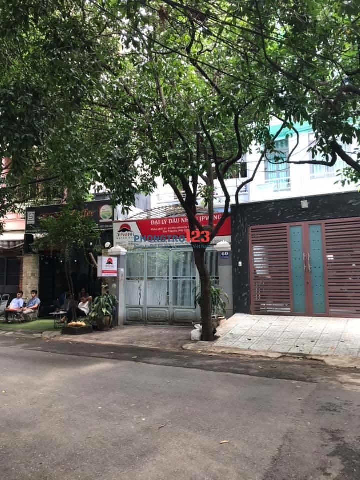 Cho thuê mặt bằng tại 60 đường số 2, cư xá Chu Văn An, P.26, Q.Bình Thạnh