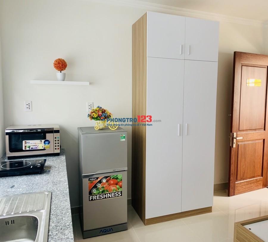 Cho thuê phòng trọ cao cấp full nội thất Bình Thạnh. LH: 0902644155