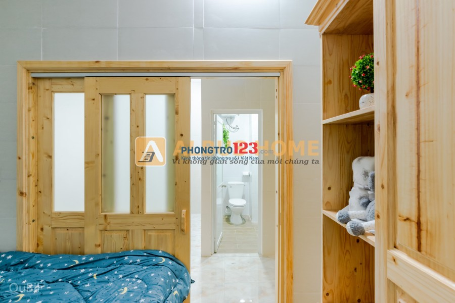 Chung cư mini 1 phòng ngủ riêng 40m2, Có thang máy, Cho tối đa 4 người, Tự do giờ giấc