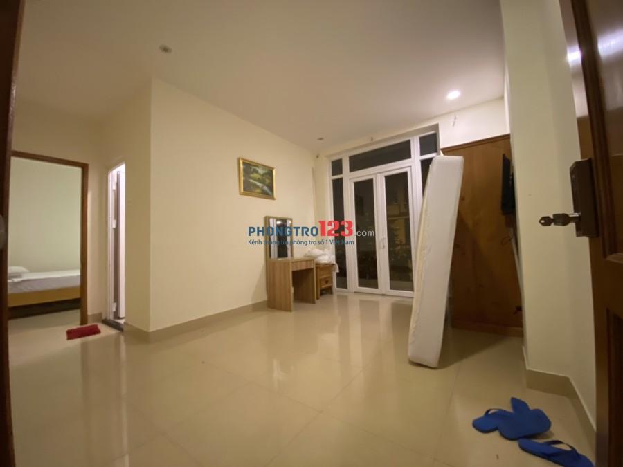 Cho thuê căn hộ quận 7 ngay lotter Q.7, full tiện nghi, tự do 20-60m2, 1-2 phòng ngủ.