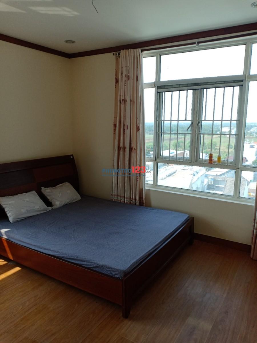 Mình cần share lại 2 phòng trong căn hộ đầy đủ tiện nghi ở chung cư Hoàng Anh An Tiến