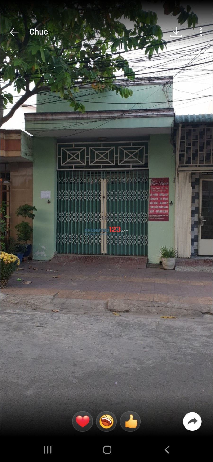 Cho thuê nhà nguyên căn đường 14, Phước Bình, Q.9