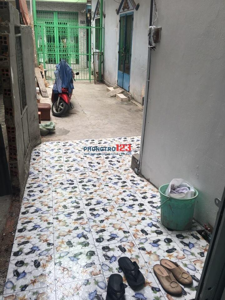 Cho thuê nhà nguyên căn, mới xây, sạch đẹp, thoáng mát, 1 trệt, 1 lầu, gần Bến xe Miền Đông gần Hàng Xanh, gần Cầu Sơn
