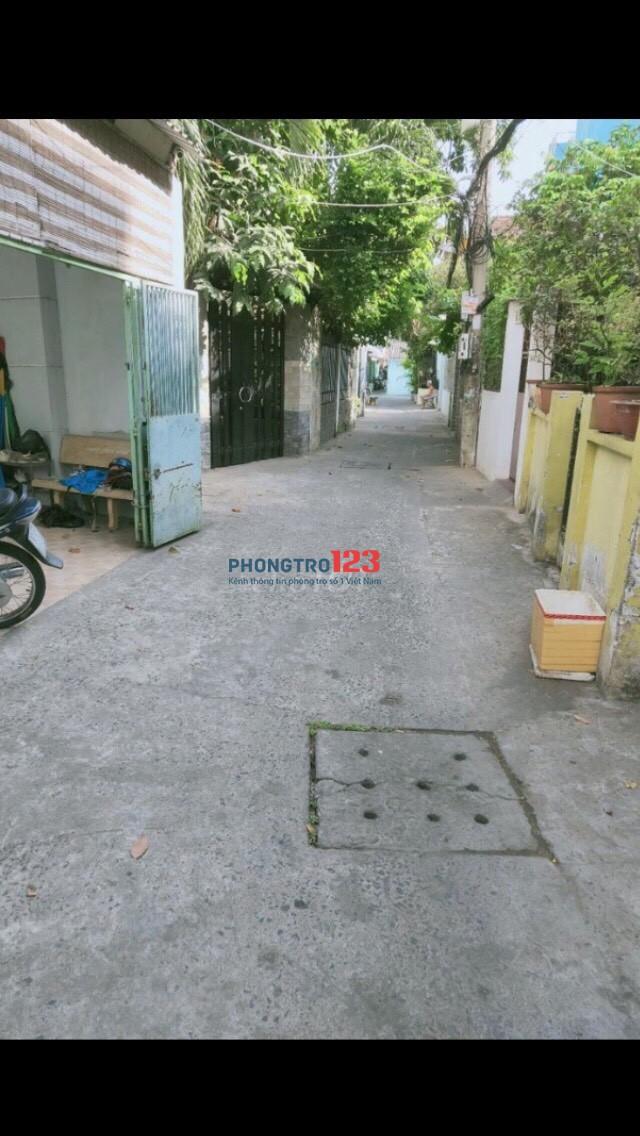 Cho thuê nhà HXH đường Hưng Phú, Quận 8, giáp Q1-5-7
