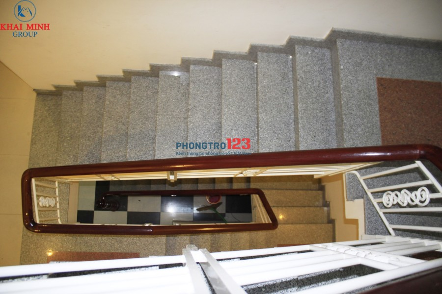 Phòng tầng trệt, máy lạnh, giường- Đặng Thùy Trâm, sát ĐH Văn Lang CS3