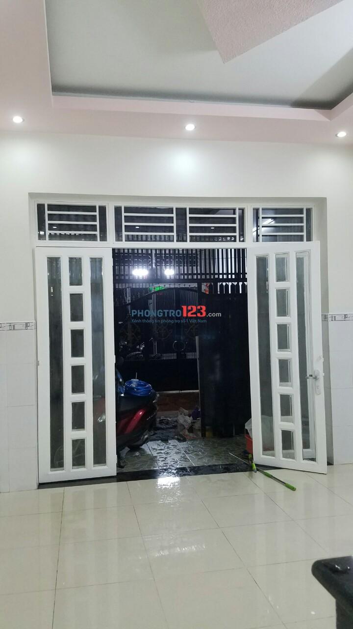 Cho thuê hoặc Bán nhà nguyên căn 4x12 80m2 1 lầu tại Hẻm 95 Lê Văn Lương P Tân Kiểng Q7