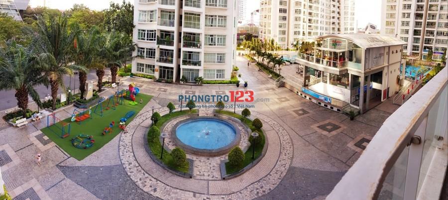 Phòng SIÊU ĐẸP trong khu căn hộ cao cấp, full nội thất, hồ bơi 1000m2, công viên 2 ha, BAN CÔNG SIÊU LỚN